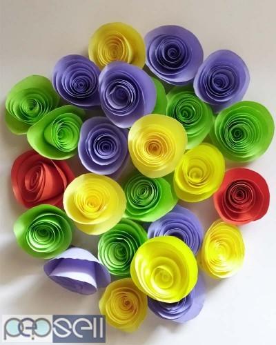 Designer Flower for wall decor office decor 0