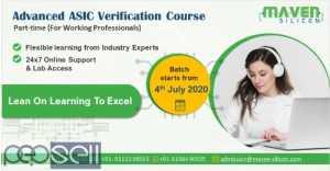 Advanced ASIC verification Course - Part-time