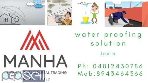 MANHA INTERNATIONAL Water proofing  1