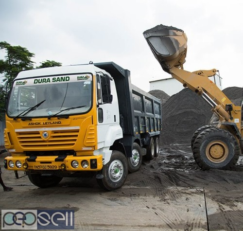 P-Sand and M-Sand manufacturers in Coimbatore - Durasand 1
