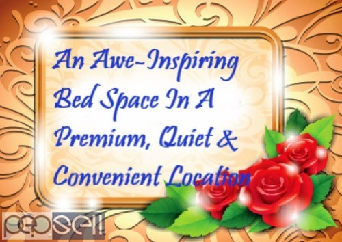 An Awe-Inspiring Bed Space In A Premium, Quiet & Convenient Location 0