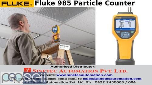 Fluke 985 Particle Counter Sinetec Automation Pvt Ltd 0