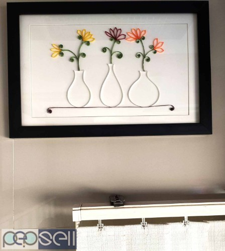 Unique Flower-Port frame for gift to someone special on any Occasion 0