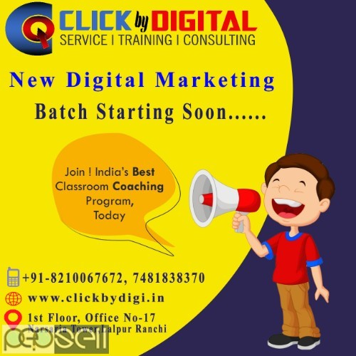 Best Digital Marketing Training Institute in Ranchi | Hands-on Experience 0