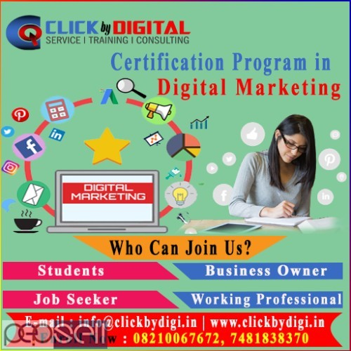 Best Digital Marketing Training Institute in Ranchi | Hands-on Experience 1