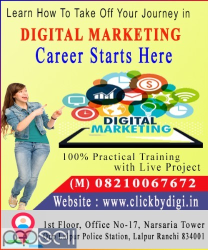 Best Digital Marketing Training Institute in Ranchi | Hands-on Experience 2