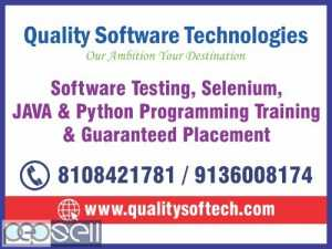 SOFTWARE TESTING COURSE, PYTHON COURSE, JAVATRAINING INSTITUTE – QUALITY SOFTWARE TECHNOLOGIES