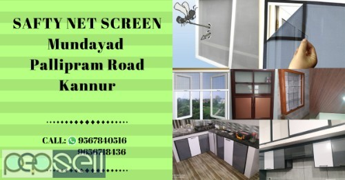 SAFTY NET SCREEN Air ventilation installation Kannur Thalassery-Mattanur-Payyanur-Kuthuparambu 0