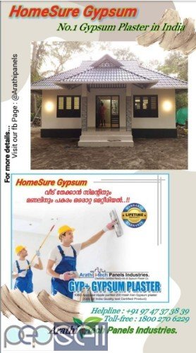 ARATHI-TECH , Gypsum Plaster in kerala Kasaragod-Kannur-Wayanad-Kozhikode 3
