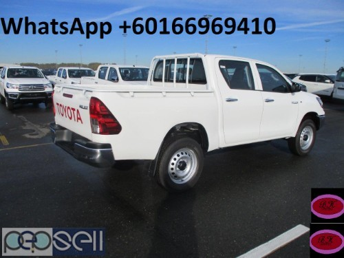 Slightly Used 2019 TOYOTA HILUX 1