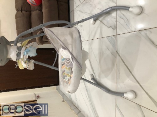 Rarely used Fisher price swing and cradle  0