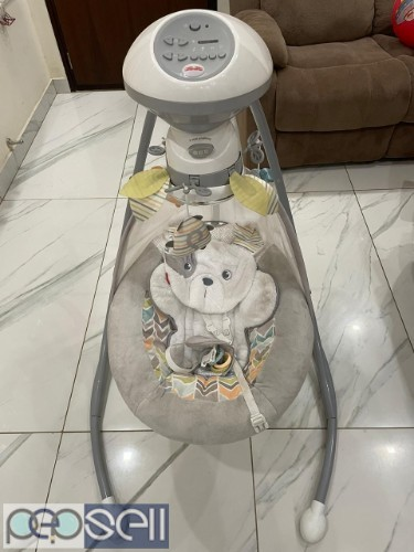 Rarely used Fisher price swing and cradle  2