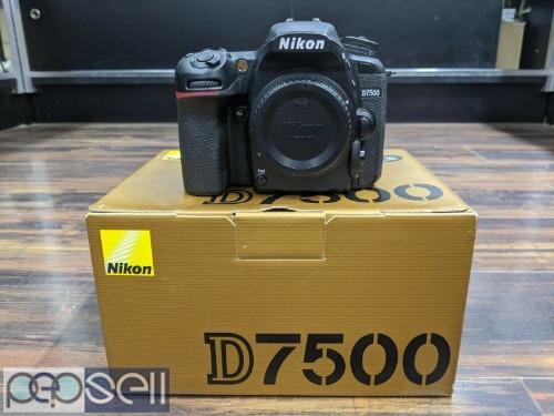 Nikon D7500 20.8MP Digital SLR Camera Body 2