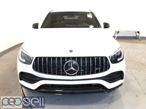 Clean 2020 Glc 43 AMG Coupe white color 0