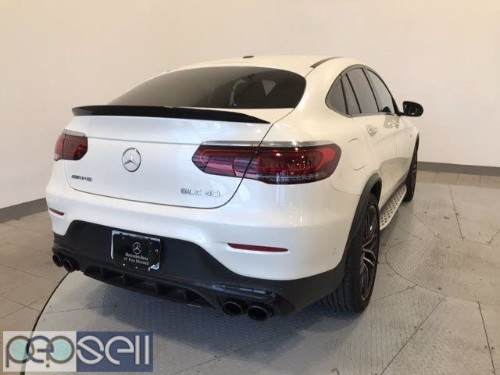 Clean 2020 Glc 43 AMG Coupe white color 1