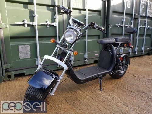 For Sale Electric scooter citycoco 3000W motor with 20ah battery 0