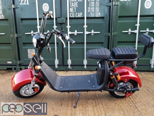 For Sale Electric scooter citycoco 3000W motor with 20ah battery 2