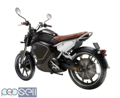 Super Soco TC Max 60mph+ Electric Motorbike/motorcycle/scooter 1