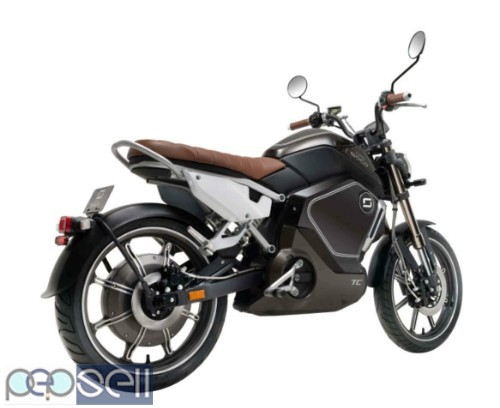 Super Soco TC Max 60mph+ Electric Motorbike/motorcycle/scooter 2
