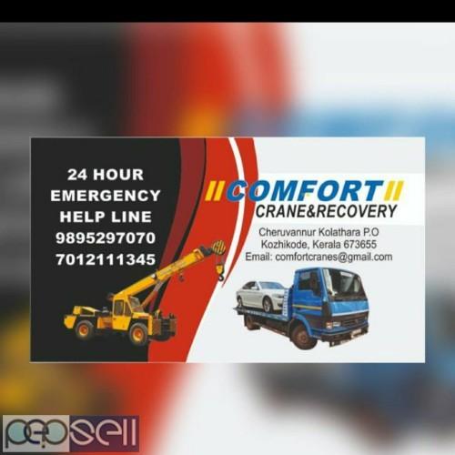 COMFORT Crane and recovery service Calicut Kolathara Mankavu panniyankara kallai mavoor balussery sm street  0