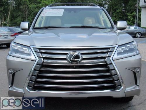 LEXUS LX 570 SUV Gulf Specs 2019 (Silver) URGENT SALE 0