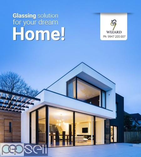 WIZARD GLASSES, GLASS WORK,FIXED GLASS WORK,STAIRCASE GLASS WORK,PERGOLA GLASS WORK MALAPPURAM 0
