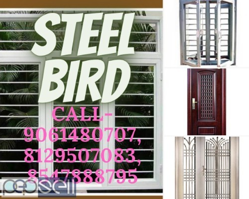 STEEL BIRD - Steel doors manufacturer - Steel window manufacturer - Steel window frame - Steel door frame - Balussery Calicut  1