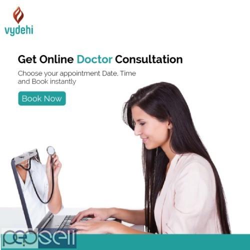 Book Online doctor consultation - Vydehi Hospital 0