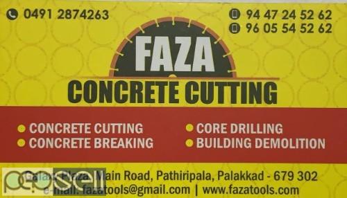FAZA Concrete cutting services Palakkad kongad kottayi mundur ottapalam olavakkode shoranur pathiripala 0