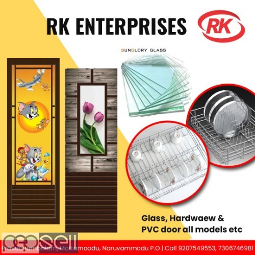 RK ENTERPRISES Pvc Bathroom Doors dealer trivandrum 1