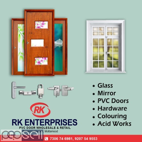 RK ENTERPRISES Pvc Bathroom Doors dealer trivandrum 2