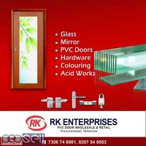 RK ENTERPRISES Pvc Bathroom Doors dealer trivandrum