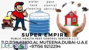 SUPER EMPIRE pest control service in dubai