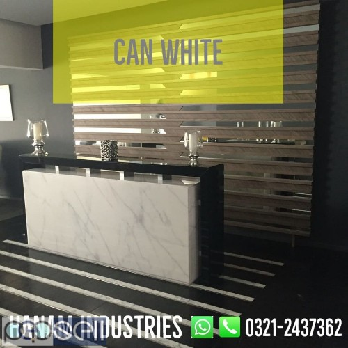 Can White Marble 1