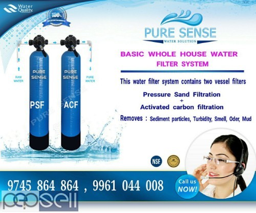 water filtering systems for whole house Thrissur, Guruvayur, Kunamkulam, Vadanapilly 0