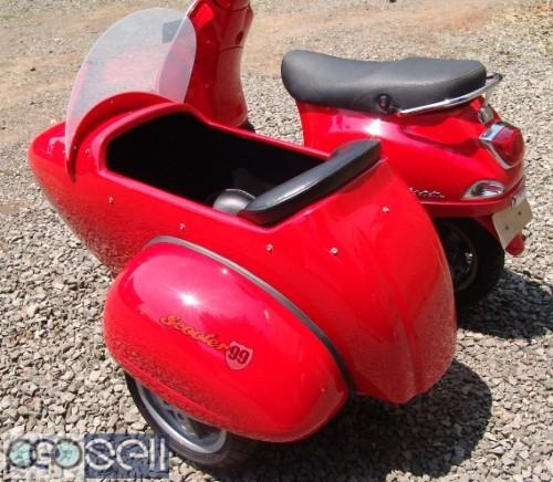 Sidecar For Vespa Piaggio LX 1