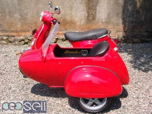 Sidecar For Vespa Piaggio LX 2
