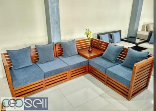 Wooden frame sofas 1