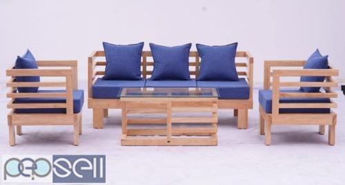 Wooden frame sofas 2