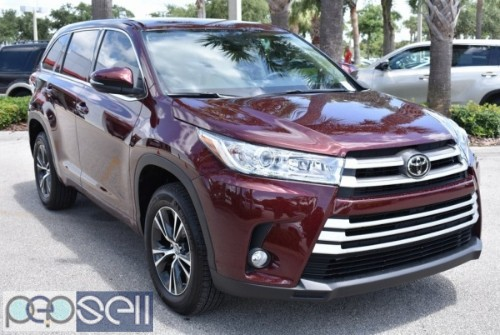 Selling My 7 Months Used 2018 Toyota Highlander  0