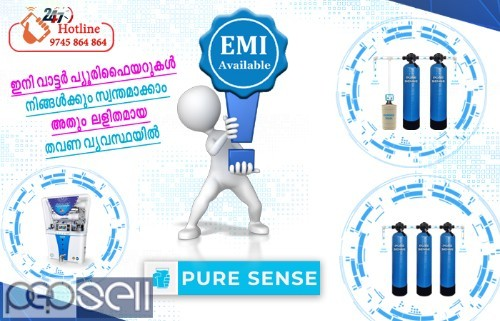 EMI Offer For all kinds of Water Purification Systems in Thrissur, Guruvayur, Kunnamkulam, Chavakkad, Vadanapilly 0
