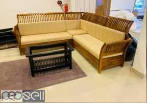 Wooden frame sofas