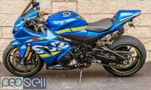 2017 Suzuki gsx r1000cc available for sale