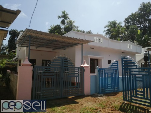 A new house for sale at WEST KORATTY (1250 SQ FT) 1