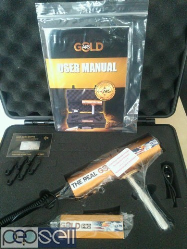 Brand New Real Gold AKS LR-TR Detector 1