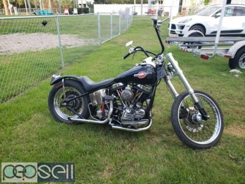 1952 Harley Davidson Panhead 0