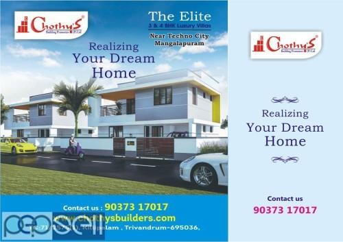 The The Elite Villas Near TECHNO CITY Trivandrum 1