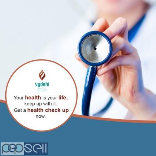 Best MASTER HEALTH CHECK UP at Vydehi Hospital COST : 1600 1