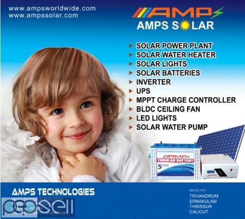 AMPS Technologies -Solar Power Plant Dealers  Thrissur Guruvayoor  Kodakara  Mannuthy Chavakkad Chalakudy 0