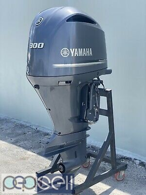 Yamaha Lf300xca, 300 Hp, 25' Shaft, Digital, Electric, Pt&t, Offshore 4.2l 0